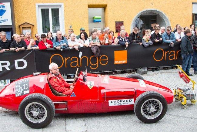 """Zahlreiche """"Oldies"""" bei der Ennstal Classic 2012"""