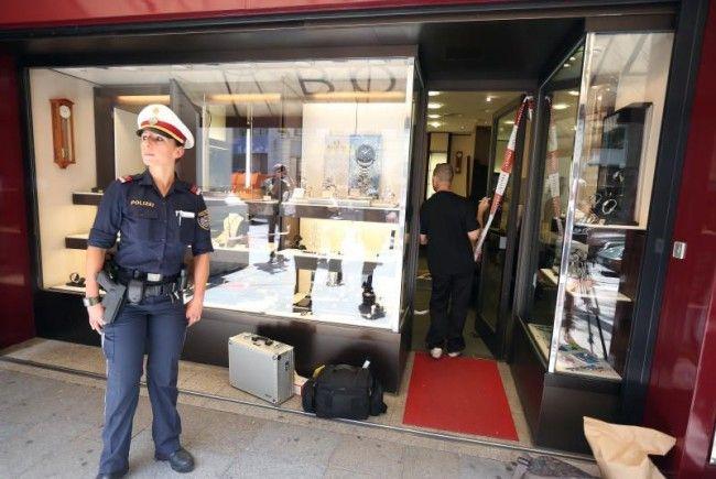 Wüster Überfall mit filmreifer Flucht: Juwelier Böhnel auf der Mariahilfer Straße