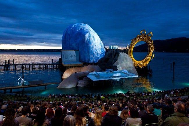 Fotoprobe der Bregenzer Festspiele 2012.