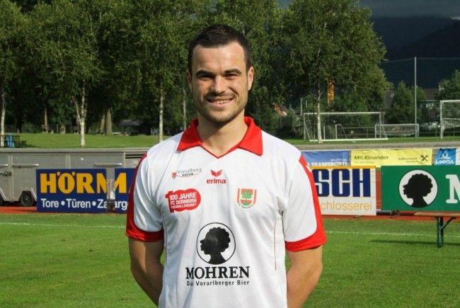 """FCD-Neo-Kapitän Johannes """"Hirschi"""" Hirschbühl will mit den Rothosen in die Erste Liga zurückkehren."""