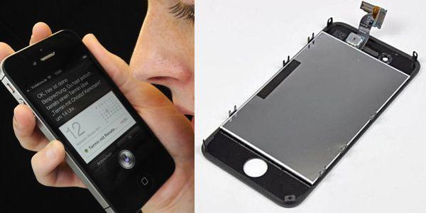 IPhone 4S (l.) und das gepostete Foto vom IPhone 5 (r.).