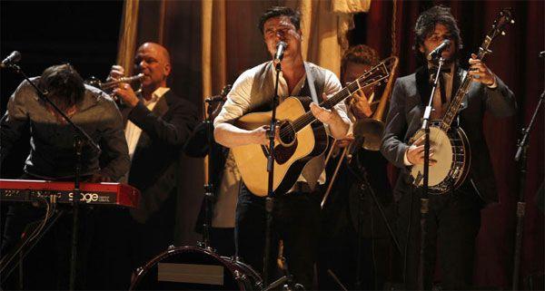 Mumford & Sons waren beim Harvest Of Art am Freitag der eindeutige Publikumsliebling.