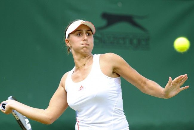 Die Dornbirnerin Tamira Paszek will Tennis-Geschichte schreiben.