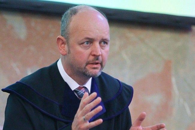 Richter Andreas Posch hat die Verhandlungsrunden souverän geführt, heute verliest er die Urteilssprüche.