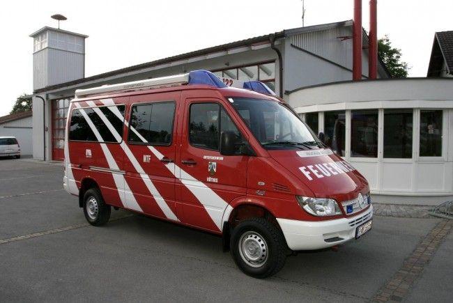 Einsatzabklärung Feuerwehr Röthis