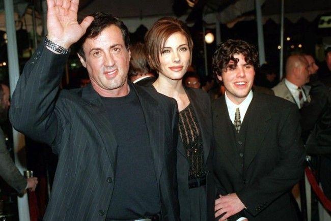 Silvester Stallone mit seinem Sohn Sage