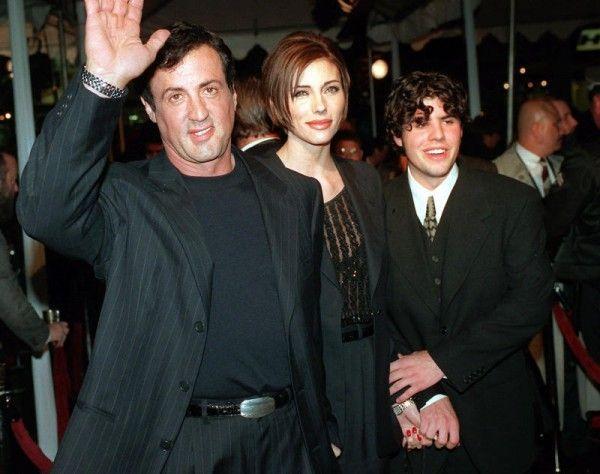 36-jähriger Sage Stallone (r.) ist tot aufgefunden worden.