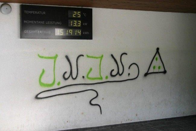Polizei sucht nach unbekannten Sprayer