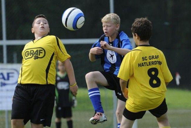 Das mehrtägige Nachwuchsfußballturnier in Hatlerdorf fand großen Anklang.