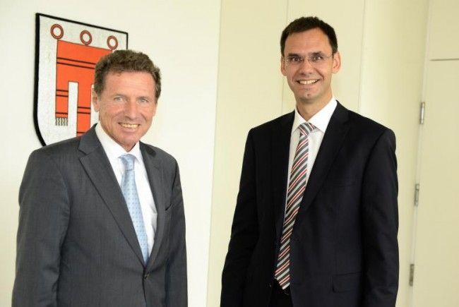 Wissenschaftsminister Karlheinz Töchterle auf Antrittsbesuch in Vorarlberg.