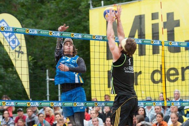 Tschechisches Bruderduell im Finale: Robert (l.) setzte sich am Ende hauchdünn gegen David durch.