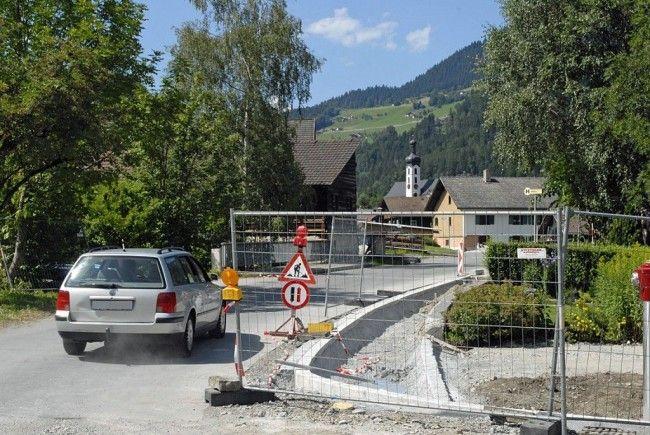 Der Abschnitt der Zelfenstraße vom Bereich Cresta-Hotel bis zur Abzweigung Gardengaweg muss an zwei Tagen gesperrt werden.