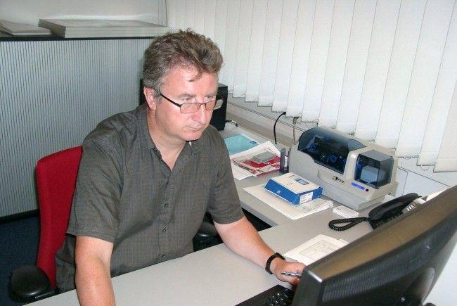 Seit 30 Jahren ist der Hohenemser Klaus Aberer der Sekretär des Vorarlberger Fußballverbandes.
