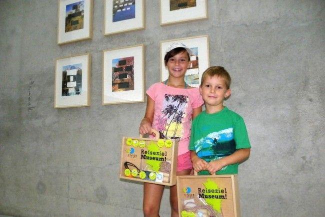Denise und Marc aus Dornbirn machten Station im Kunsthaus Bregenz