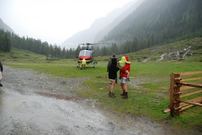 Murenabgänge in Göriach: 50 Personen evakuiert