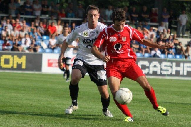 Dornbirn und Altach Amateure wollen gegen die Salzburger Vereine gewinnen.