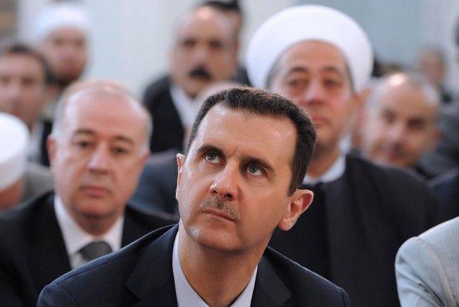 Soll zur Demission bereit sein: Assad.