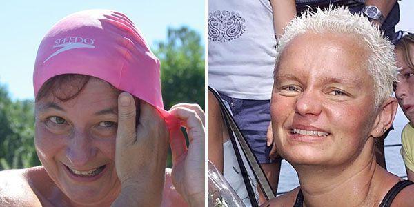 Erfolgreich: Kirsten Seidel und Sandra Albrecht.