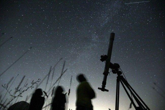Astronomen bereiten sich auf Perseiden-Schauer vor.
