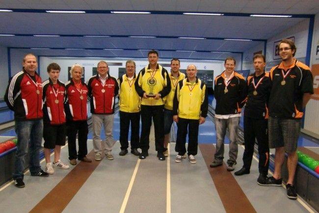 Siegerehrung Sportkegeln in Koblach