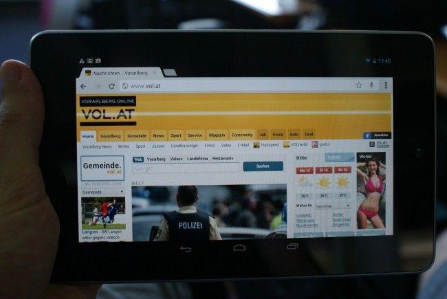 Das Nexus 7, im VOL.AT-Test voll überzeugend, wird Ende August in Deutschland erhältlich sein.