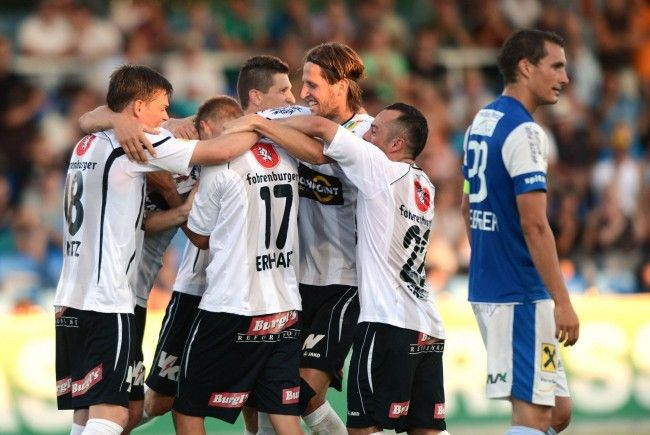Altach 3:0 gegen FC Lustenau – Austria Lustenau bezwang St. Pölten