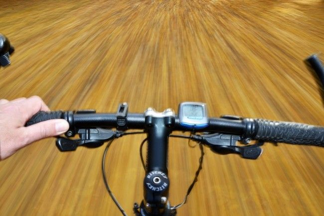 Mann ergriff nach Ehekrach auf dem Fahrrad die Flucht.