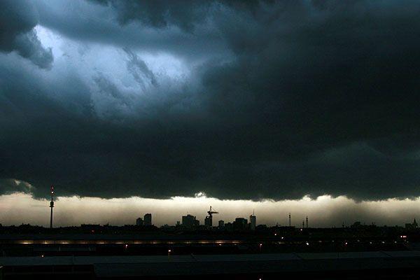 Dunkle Gewitterfronten werden nächste Woche kein seltener Anblick sein