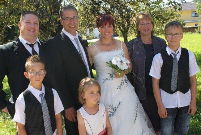 Katrin Göpel und Reiner Nikolay haben in Thüringen geheiratet