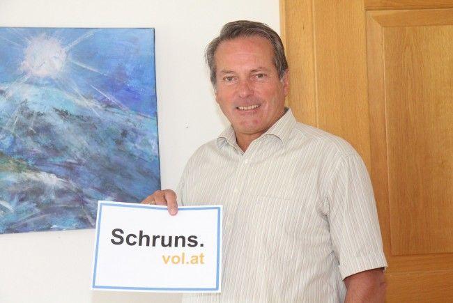 Karl Hueber, Bürgermeister von Schruns, im Interview mit VOL.AT