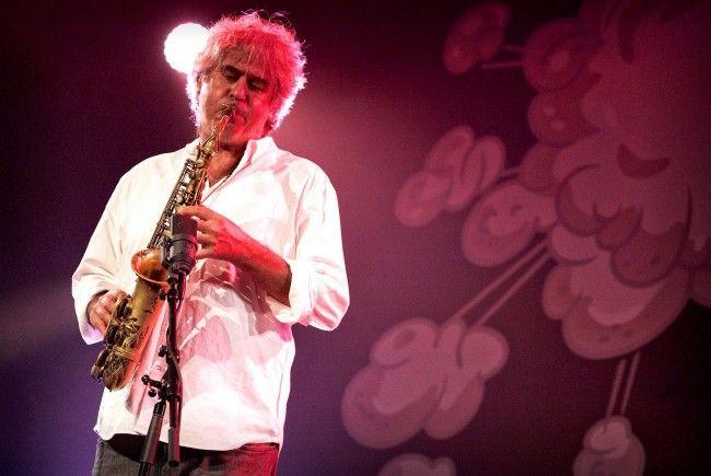 """Tim Berne mit """"BB&C"""" am Sonntag während des 33. Internationalen Jazzfestivals in Saalfelden."""