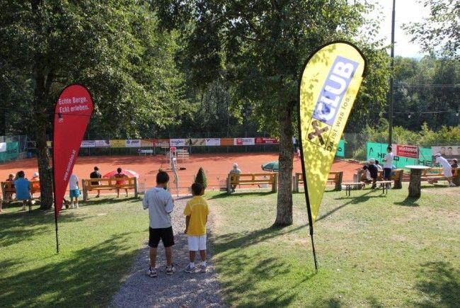 Die europäische Tenniselite der Jugend trifft sich im Montafon