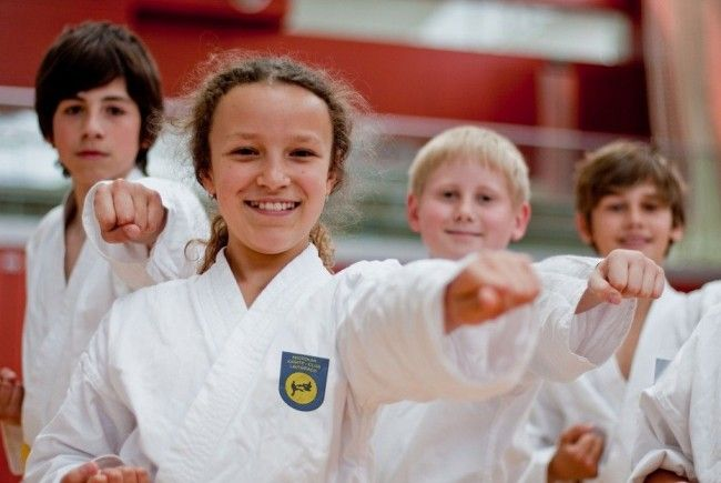 Ende September beginnen in Lauterach Anfängerkurse für das Karate.