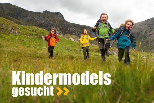 Montafoner Kinder bekommen die Chance als Models mitzuarbeiten.