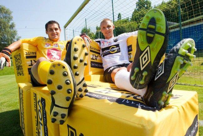 Altach und die Austria treffen sich im Ländle-Derby der zwei besten Vorarlberger Teams.