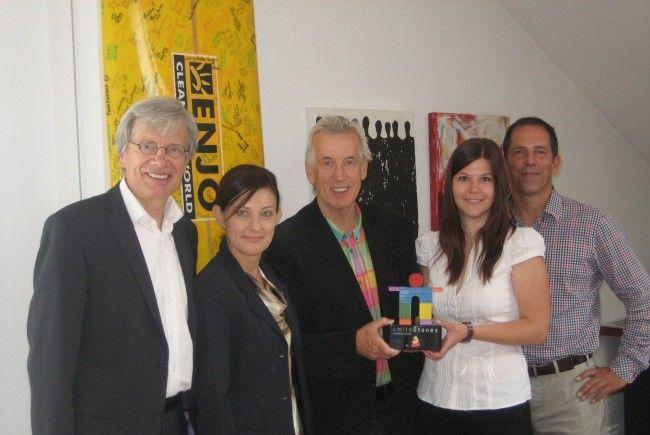v.li.: Helmut Kopf, Bärbel Fend, Hubert Löffler, Sandra Winkler, Johannes Engl