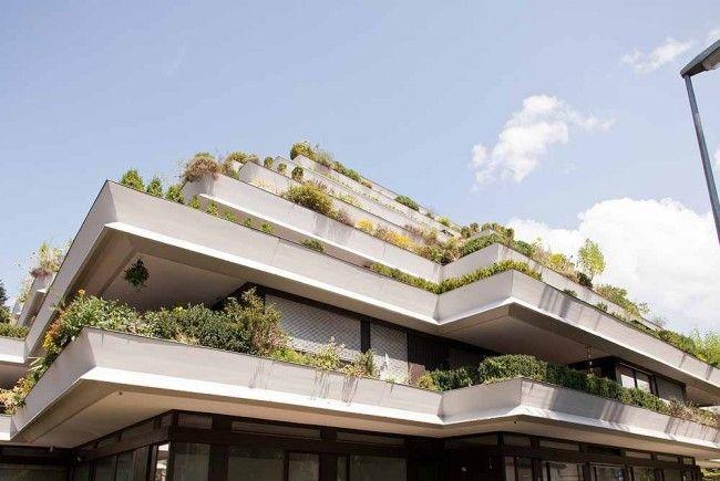 Die markante Architektur hat von Beginn an kunstsinnige Bewohner angezogen.