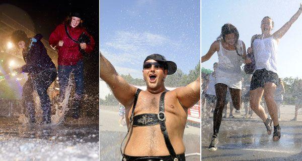 Das Wetter am Frequency 2012 hat von Sonne bis Regen alles zu bieten