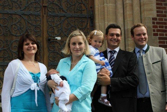 Taufe von Jonas Matteo