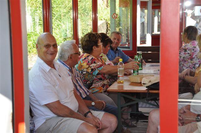 Tolle Stimmung herrschte beim Ausflug des PVÖ Schwarzach