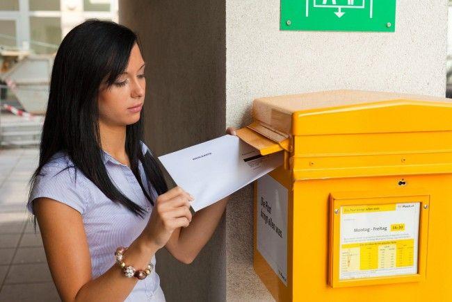 Luxusgut Brief: Post lässt Kunden für sich arbeiten