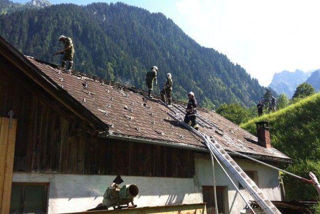 Bürserberg: Sägewerk in Brand geraten