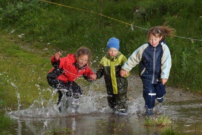 Noch regnet es in Vorarlberg