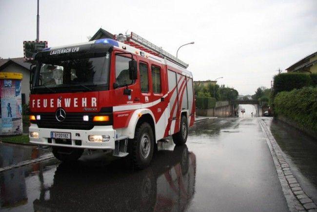 Schweres Unwetter über Vorarlberg