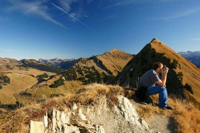 Hoch hinaus streben nicht nur die Urlauber, sondern auch die Nächtigungszahlen im Bregenzerwald.