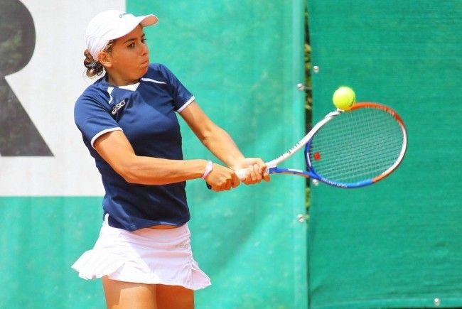 Julia Grabher hat die ersten WTA-Punkte in Innsbruck geholt.
