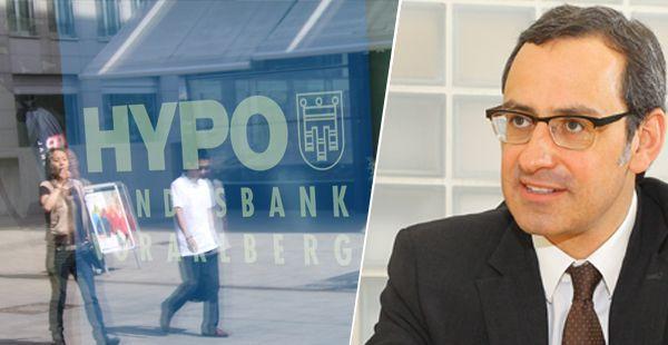 Vorstandsvorsitzender der Landes- und Hypothekenbank Vorarlberg, Michael Grahammer.