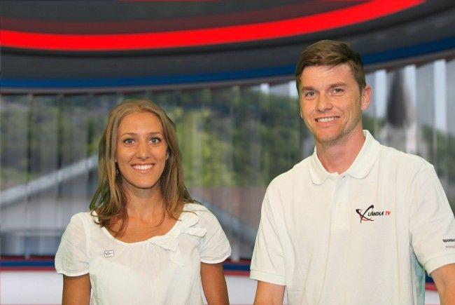 Das Moderatoren-Duo: Bianca Oberscheider und Marc Gächter.