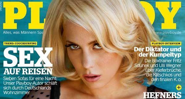 Christina Klein alias LaFee zog sich für die September-Ausgabe des Playboy aus.