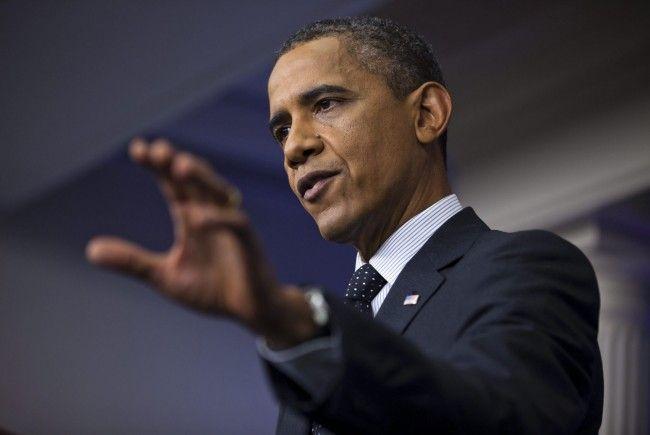 """US-Präsident warnte Regime vor """"roter Linie""""."""